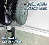 StayDry Systems Collapsible Water Dam (5) (Water Stopper, ADA Wheelchair Accessible Shower Threshold)