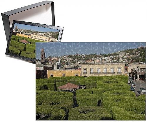 Low price photo jigsaw puzzle of jardin principal san for Jardin san miguel de allende