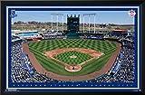 Kansas City Royals - Kauffman Stadium 15 Lamina Framed Poster - 35.75 x 23.75in.