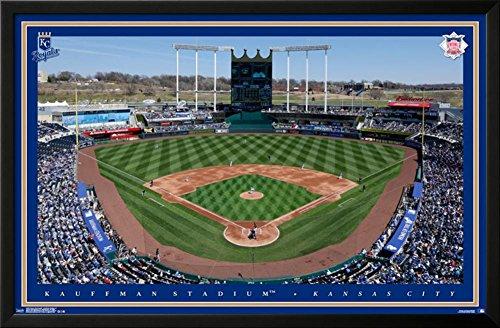 Kansas City Royals - Kauffman Stadium 15 Lamina Framed Poster
