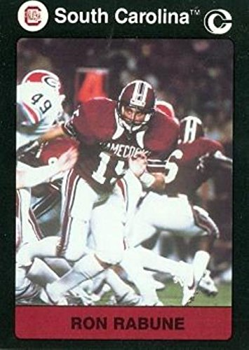 Ron Rabune Football card (South Carolina) 1991 Collegiate Collection ()