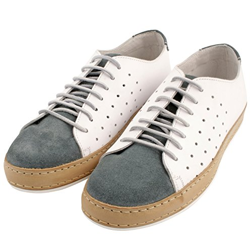 Diseño exclusivo de Luigi Derbies, zapatos de hombre para hombre Azul - azul
