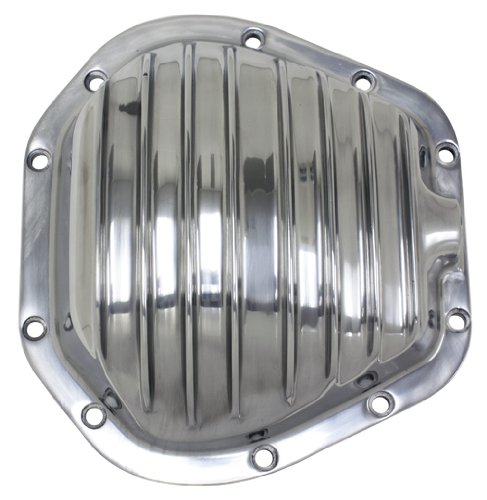 (DANA 60 POLISHED ALUMINUM FRONT/REAR DIFFERENTIAL COVER - 10 BOLT )