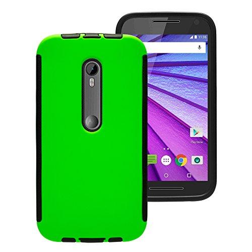 Touch Case Displayschutz Cover Schutzhülle Motorola MOTO G3 3. Generation Grün