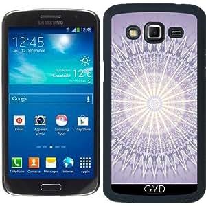 Funda para Samsung Galaxy Grand 2 (SM-G7105) - Mandala Geométrica Púrpura by Nina Baydur