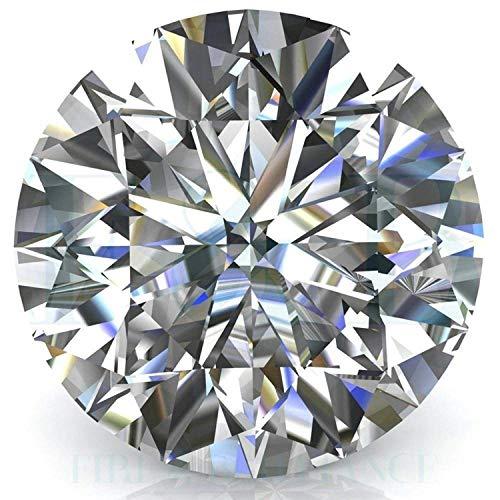 Moissanite Diamond Stone Certified Best AAA+ Quality Loose Gemstone1.45 Carat by - 1.45 Diamond Round Ct