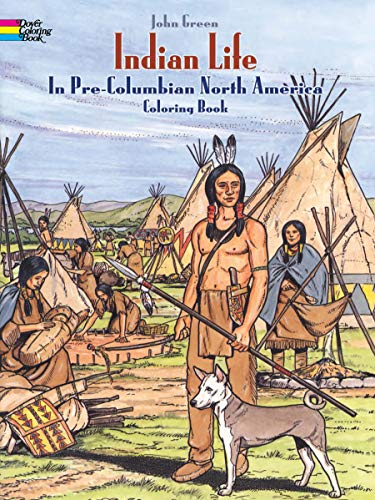 olumbian North America Coloring Book (Dover History Coloring Book) ()