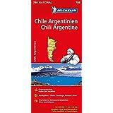 Michelin Chile Argentinien: Straßen- und Tourismuskarte 1:2.000.000 (MICHELIN Nationalkarten)