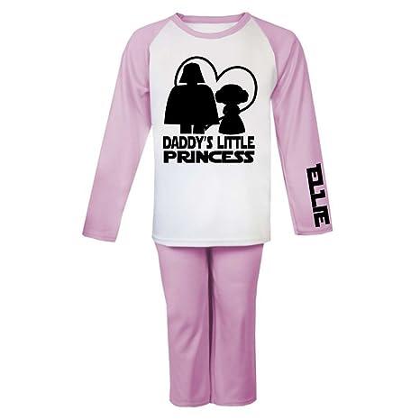 Daddy s Little Princess Star Wars personalizado pijama infantil pijama infantil personalizado regalos Pjs de