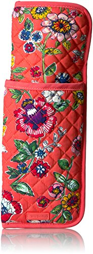 Vera Bradley Iconic Curling & Flat Iron Cover, Coral Floral