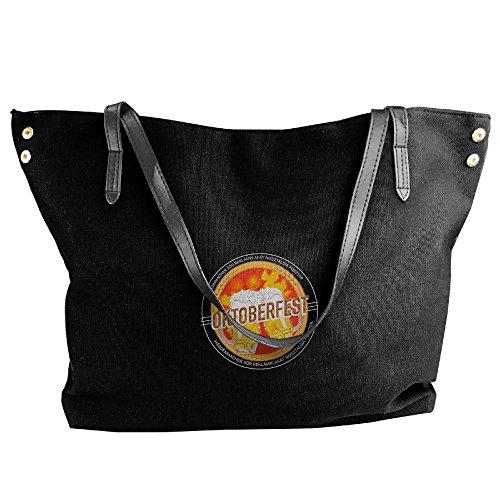 I Black Boyfriend Women Shoulder Large Handbags Fashion Fashion Love Capacity Tote Bags Canvas Bags My Black Handbags Hobo rTrwU