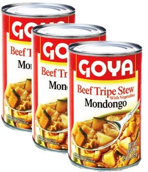 Goya Beef Tripe Stew- Mondongo 15 oz Pack of 3 ()