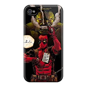 LavernaCooney Iphone 4/4s Durable Hard Phone Covers Customized HD Hulk And Deadpool Skin [xNm10768uAId]