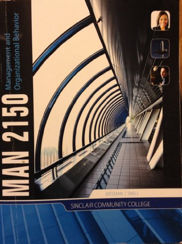 Management and Organizational Behavior, MAN 2150, Sinclair Community College