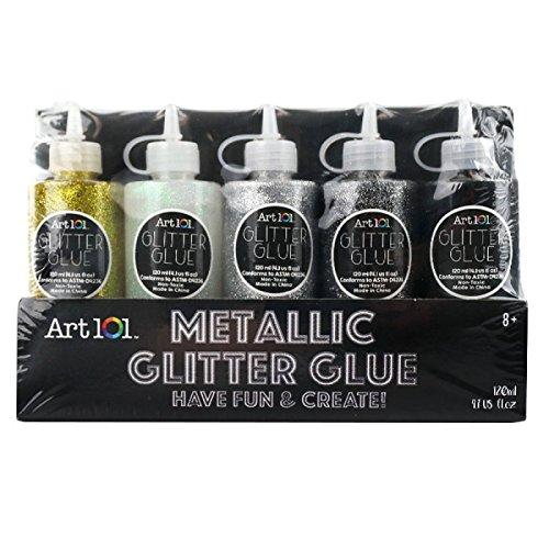 Art 101 Metallic Glitter Glue (Gold Painting Glitter)