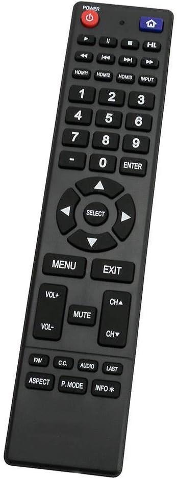New 850125633 Remote Control for Hitachi TV LE32E6R9 LE32A509 LE50A3 LE50A6R9