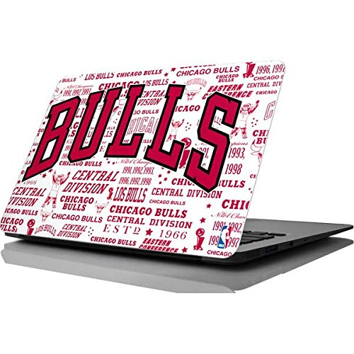 Skinit NBA Chicago Bulls MacBook Air 11.6 (2010-2016) Skin - Chicago Bulls Historic Blast Design - Ultra Thin, Lightweight Vinyl Decal Protection by Skinit