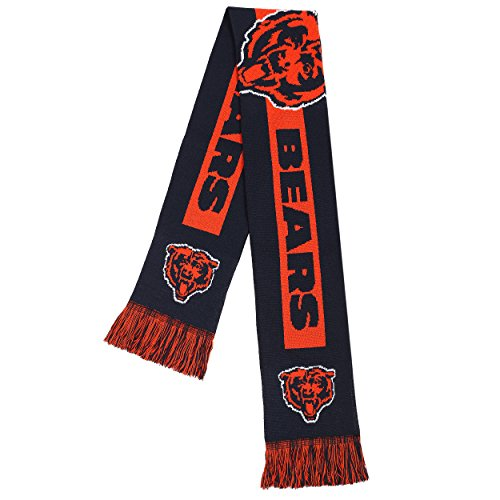 Forever NFL Chicago Bears - 2016 Big Logo Scarf, One Size...