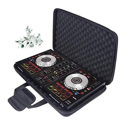 AKOZLIN Double Sponge Protective EVA Hard Case for Pioneer DJ DDJ-SB2 / DDJ-SB3 SB RB 400 Portable 2-Channel Performance DJ Controller