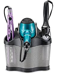 Polder Style Station - Hair Styling Storage Unit - Heat Resistant and Ideal for Blow Dryers, Curling Irons, Brushes & More