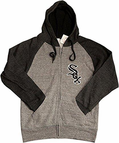 5th & Ocean Chicago White Sox Ladies Full Zip Hoodie Team Logo 11989 (Ladie Full Zip Hoody)