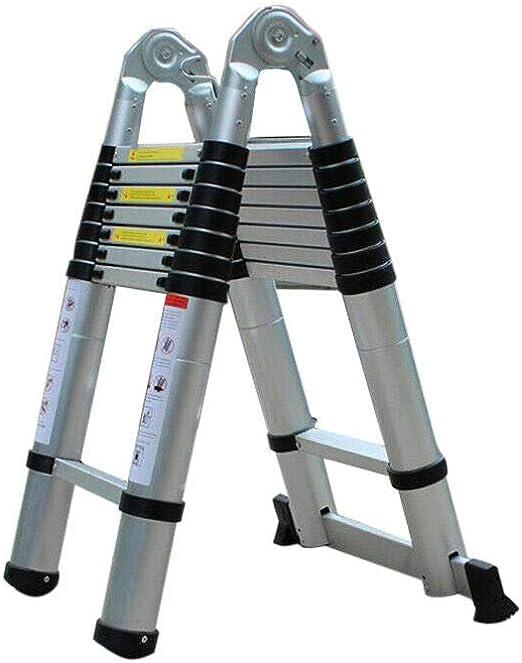 Zephyri - Escalera telescópica (5 m, aluminio): Amazon.es: Bricolaje y herramientas