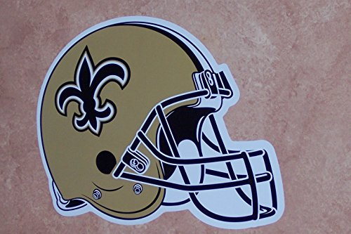 FATHEAD New Orleans Saints Team Helmet Logo Official NFL Vinyl Wall Graphic 13