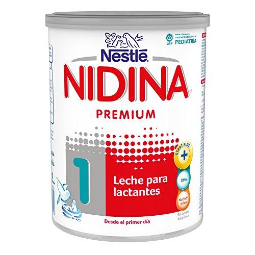 NESTLÉ NIDINA 1 - Desde el primer día - Leche para lactantes en polvo - Fórmula para bebés - 800g: Amazon.es: Amazon Pantry