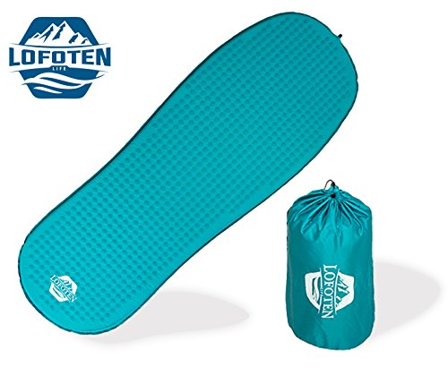 Inflating Sleeping Mattress Insulated Backpacking