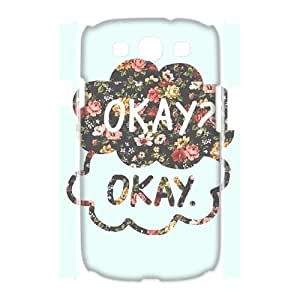 QSWHXN Okay Okay Customized Hard 3D Case For Samsung Galaxy S3 I9300