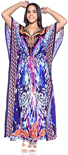 Long Maxi Kimono Caftan Beach Bikini Cover up Dress Designer Swimsuit Purple Valentines Day Gifts 2017
