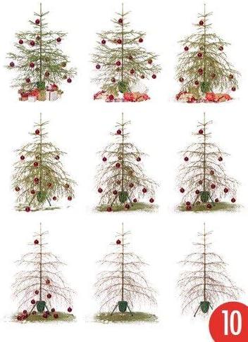 Pack de 10: Postal A6 + + + Navidad de Modern Times + + + Lapso de ...