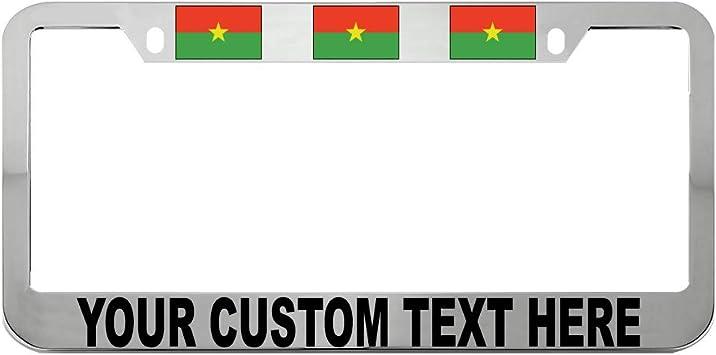MOLDOVA FLAG COUNTRY Metal License Plate Frame Tag Holder