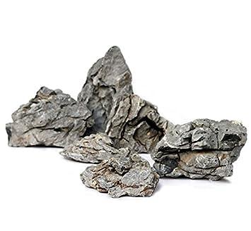 Gris resistente Natural Rock - Rico en Textura Con Formas únicas ...