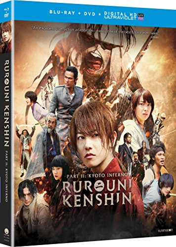 Rurouni Kenshin Part II: Kyoto Inferno (Blu-ray/DVD Combo + UV)