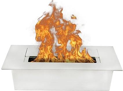 Amazon Com Moda Flame 1 5 Liter Bio Ethanol Fireplace Burner Insert