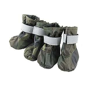 Amazon.com : Jardin Pet Dog Winter Protective Boots Shoes
