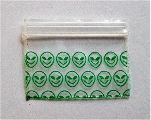 Alien Ziplock Bags - 9