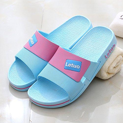 anziani cool donne in estate fankou pantofole età estate plastica bagno antiscivolo pantofole 36 interno blu Soggiorno mezza men di padre fdwvqdZ