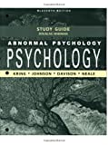 img - for Abnormal Psychology Study Guide book / textbook / text book