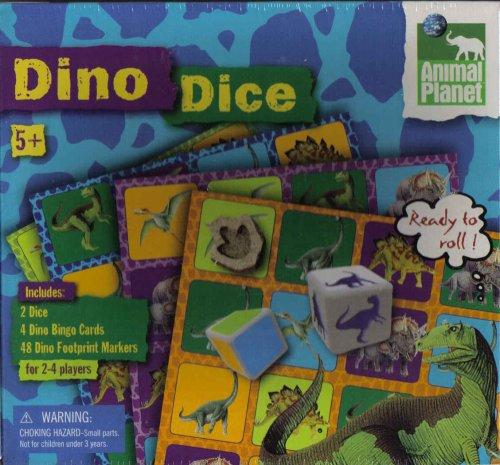 - Animal Planet Dino Dice Game
