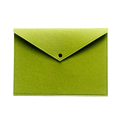 Ownuzz Protective Felt Case Bag Cover for All-New Tracing Light Box, Portable Felt Carrying Pouch Protective Cover Laptop protective cover Big folder Envelope Bag Cover(green)