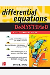 Differential Equations Demystified Kindle Edition