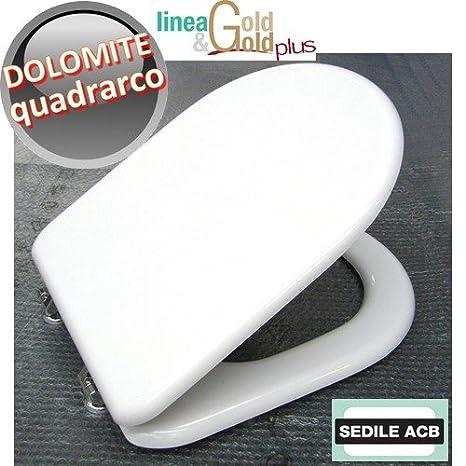 Ceramica Dolomite Serie Quadrarco.Sedile Per Wc Quadrarco Ceramica Dolomite Marca Acb Linea