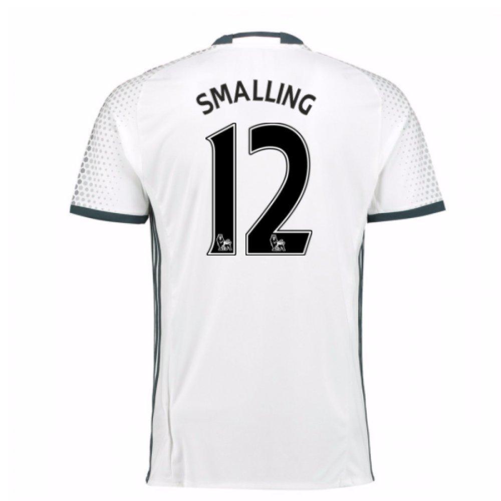 2016-17 Man Utd Third Football Soccer T-Shirt Trikot (Chris Smalling 12) - Kids