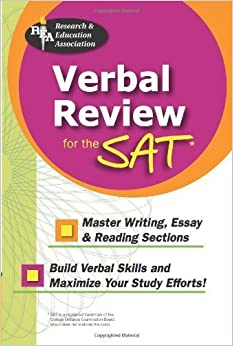 Verbal Review for the SAT? (SAT PSAT ACT (College Admission) Prep) by The Editors of REA (2005-09-12)