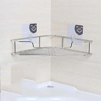 Freies Stanzen-Edelstahl-Badezimmer-Regal-kreative vielseitige ...