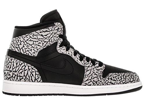 Nike Air Jordan 1 Retro Basketbalschoenen Voor Heren Zwart, Gym Rood-cmnt Spel Anth