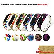Budesi Waterproof Xiaomi Mi Fitness Tracker Bracelet Accessories/Xiaomi Mi Band 2 Replacement Wristband Band Strap+Metal Buckle