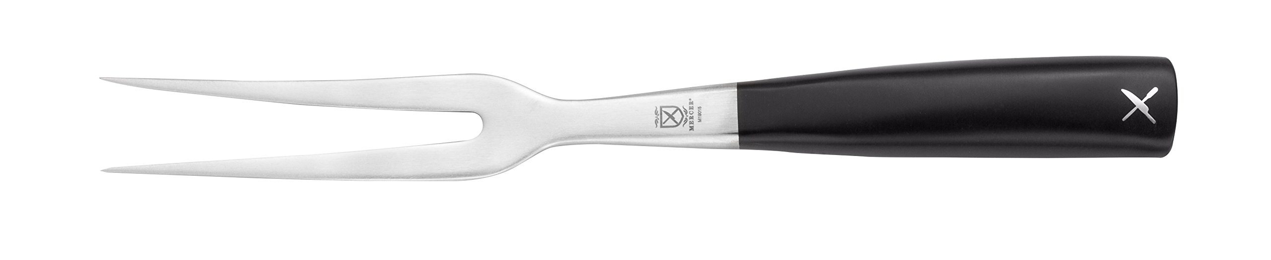 Mercer Culinary Züm Forged Curved Carving Fork, 6 1/4 Inch
